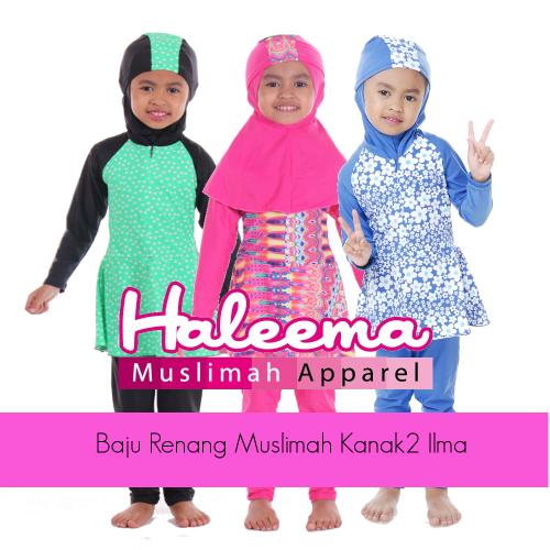 Baju Renang Muslimah Kanak2