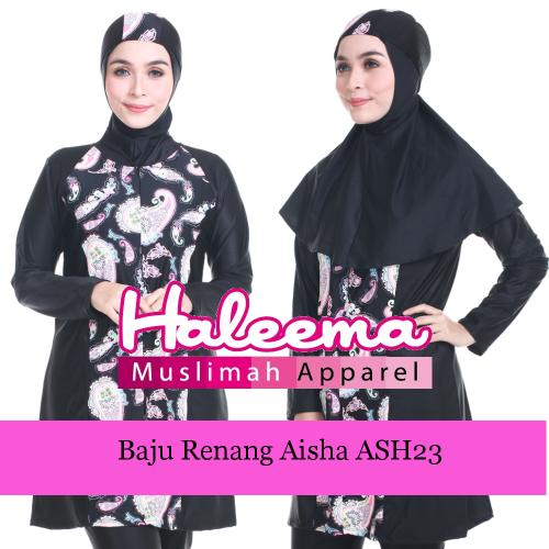 Baju Renang Muslimah Aisha ASH23