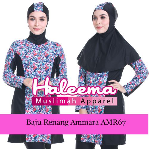 Baju Renang Muslimah Ammara AMR67